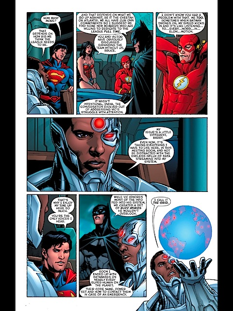 In-fighting with the Justice League