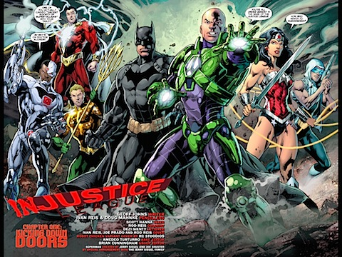 The Justice League take on the Secret Society of Supervillains
