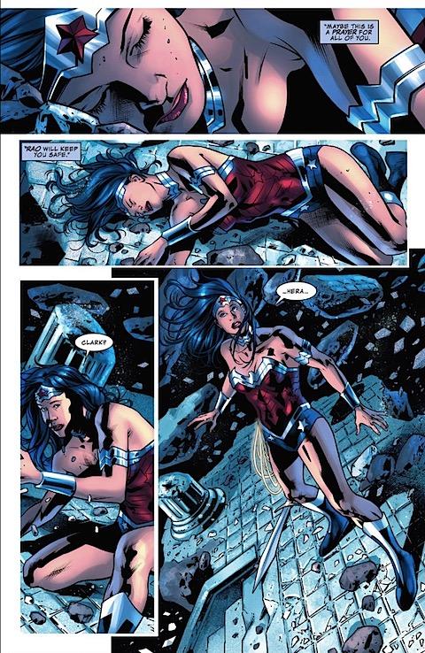 Clark prays to Diana