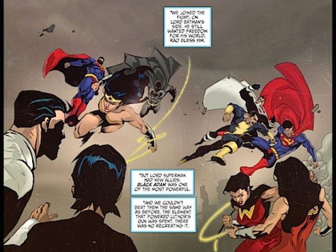 Fighting the Justice Lords