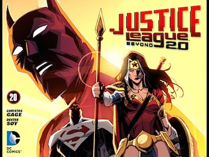 Justice League Beyond #20