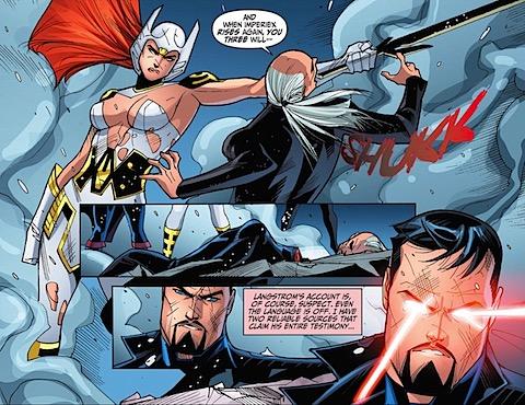 Wonder Woman kills Imperiex