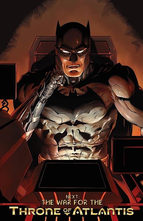 Batman watches