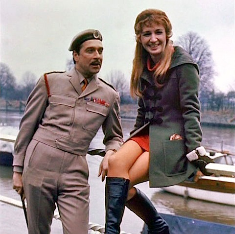 The Brigadier and Liz Shaw