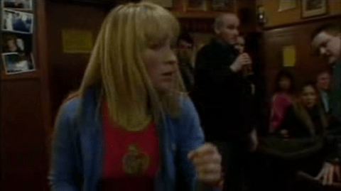 Rosie Bowen knocks out a member of the Wessex crew