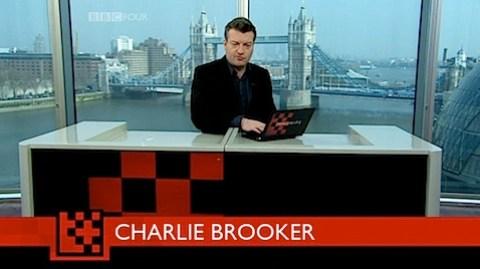Charlie Brooker in Newswipe