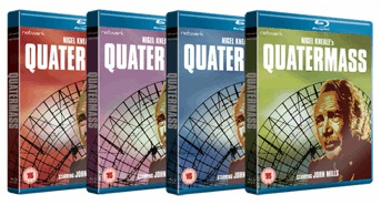 Quatermass limited edition covers