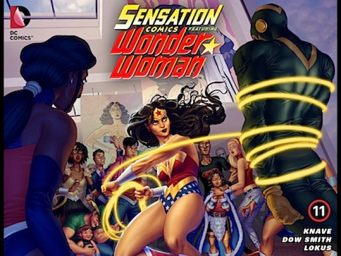 Sensation Comics Featuring Wonder Woman #11