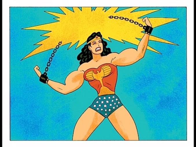Wonder Woman breaks her chains
