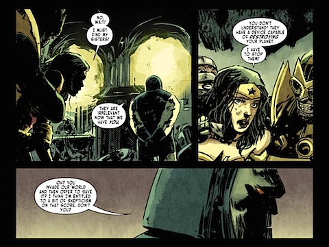 Darkseid badinage