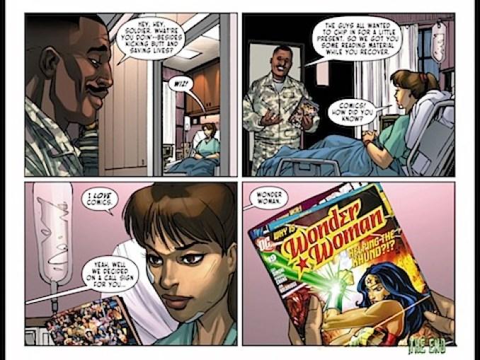 Wonder Woman comics