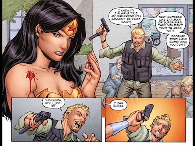The difference between Wonder Woman and the others