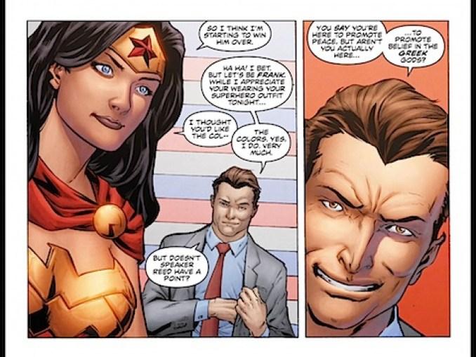 Will Wonder Woman evangelise?
