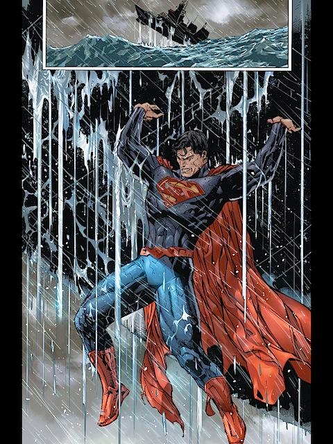 Superman saves Wondy