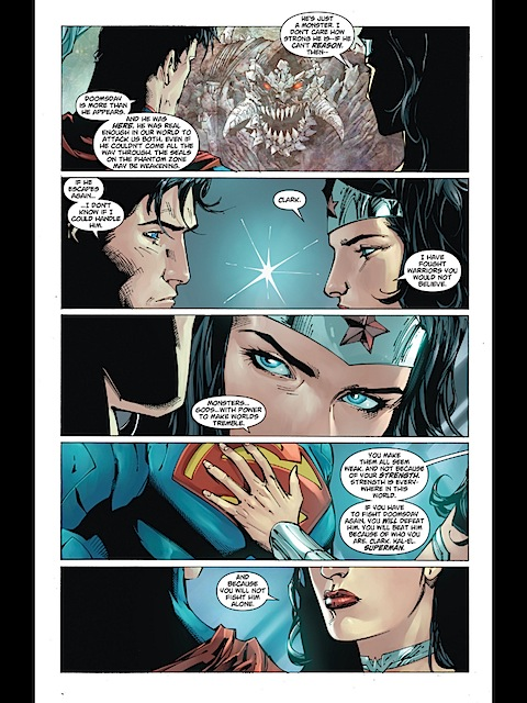Wondy reassures Superman