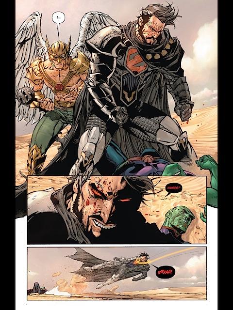 Wonder Woman stops Zod
