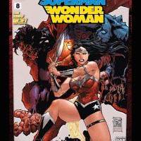 Weekly Wonder Woman: Superman/Wonder Woman #8, Action Comics #31, Superman Doomed #1, Futures End #0, Smallville: Lantern #10 and Justice League Beyond #20