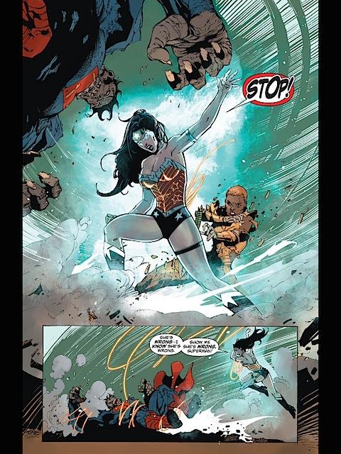 Wonder Woman Tron's up