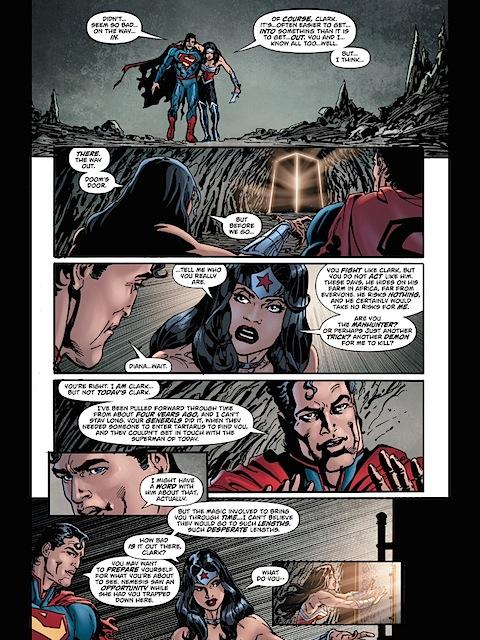 Past Superman, future Wonder Woman