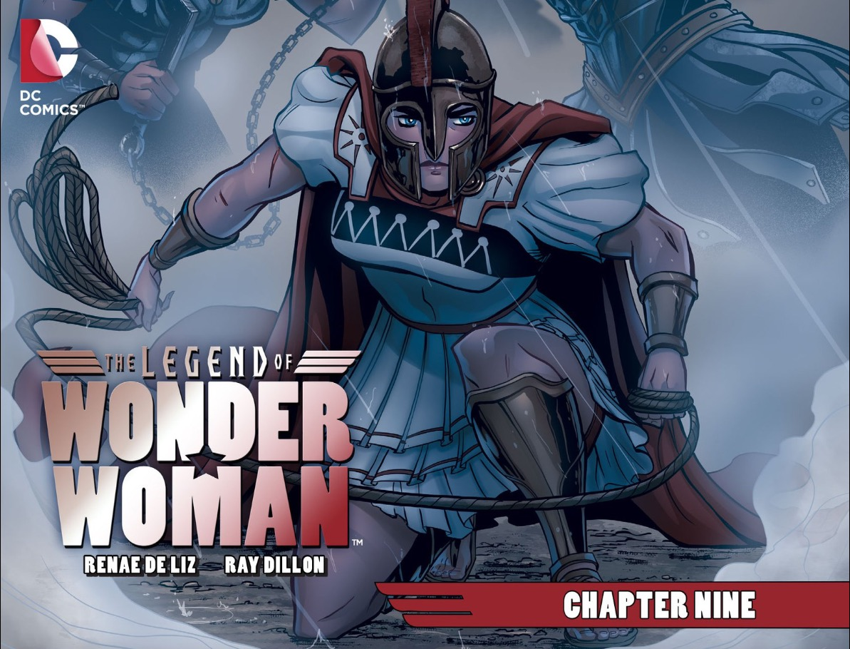 Weekly Wonder Woman: The Legend of Wonder Woman #9, Action Comics #48, Injustice: Gods Among Us - Year 5 #4