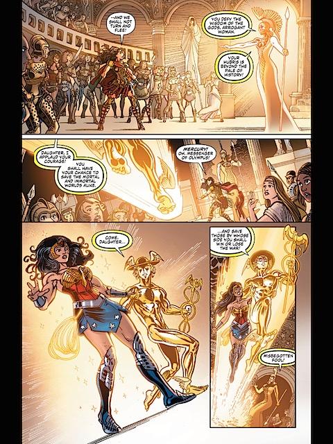 Mercury and Diana leave