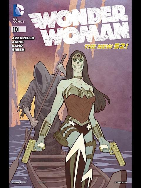 Review: Wonder Woman #10/Justice League #10/Ame-com #1-3