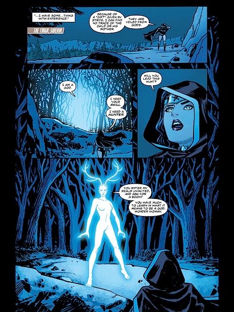 Diana asks for Artemis's help