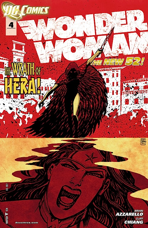 Wonder Woman issue 4 cover