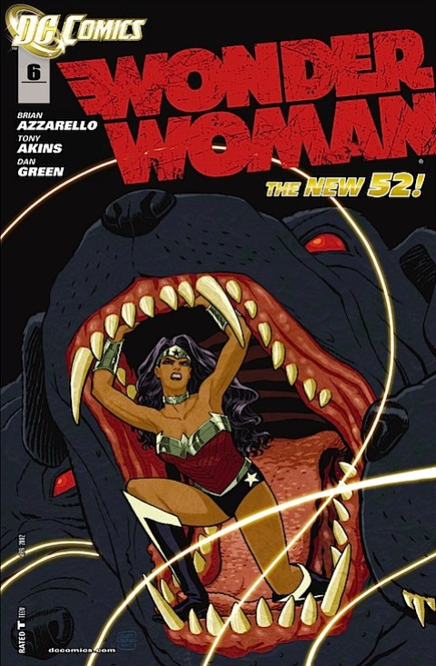 Wonder Woman 6 cover
