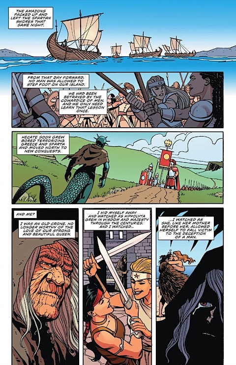 Hippolyta ends up with Zeus