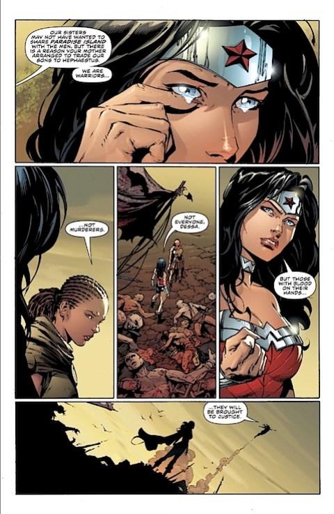 Wonder Woman's sad again