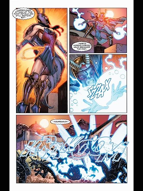 Wonder Woman becomes the goddess of war