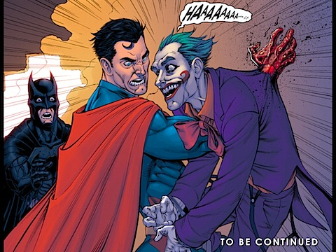 Superman kills the Joker