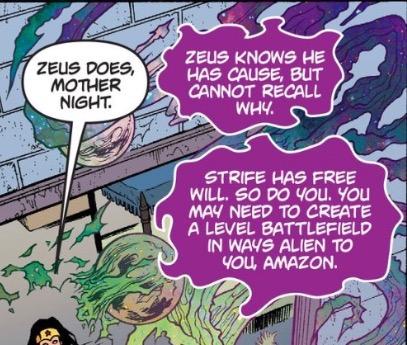Zeus fears Nyx