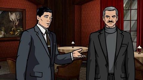 Burt Reynolds on Archer