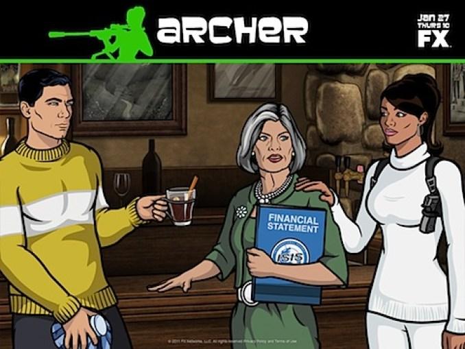 Archer season two