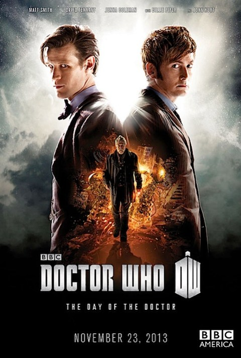The 50th anniversary special poster