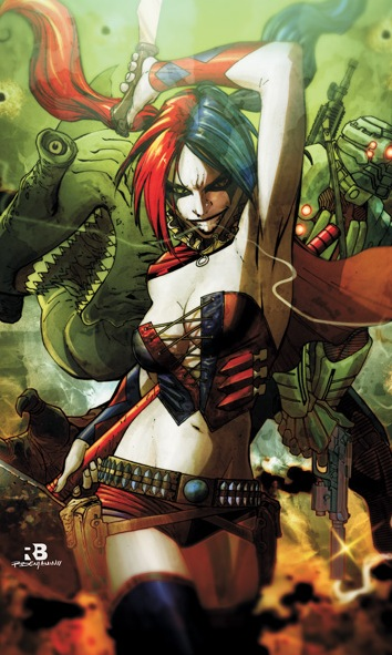 Harley Quinn in the nu52