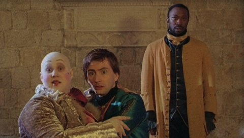 David Tennant and Matt Lucas in Casanova