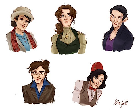 The female Doctor Who