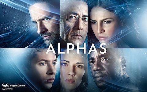 Alphas on SyFy