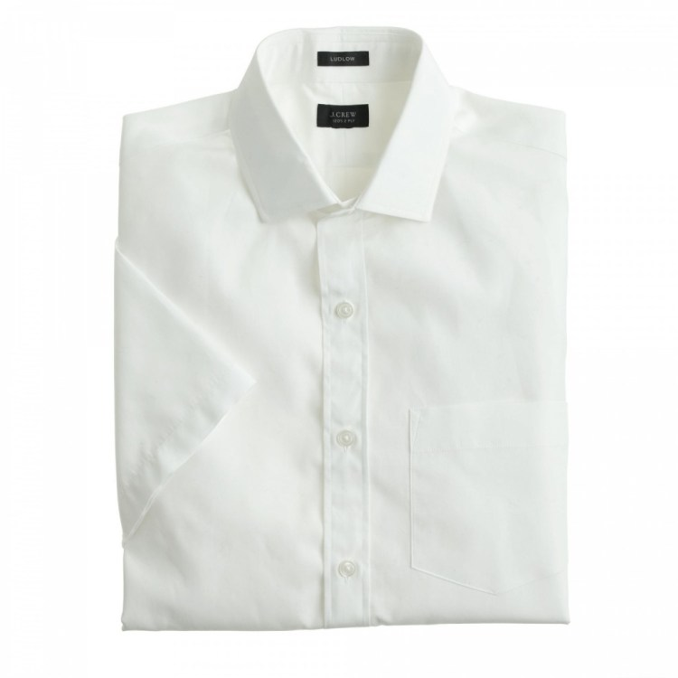 Ludlow Short Sleeve |White Button Up Shirt | The Modern Dad