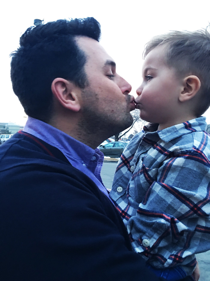 Kissing Your Kids, So What's the Issue? by The Modern Dad