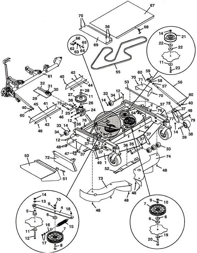 Parts Kubota Zd326 Diagram