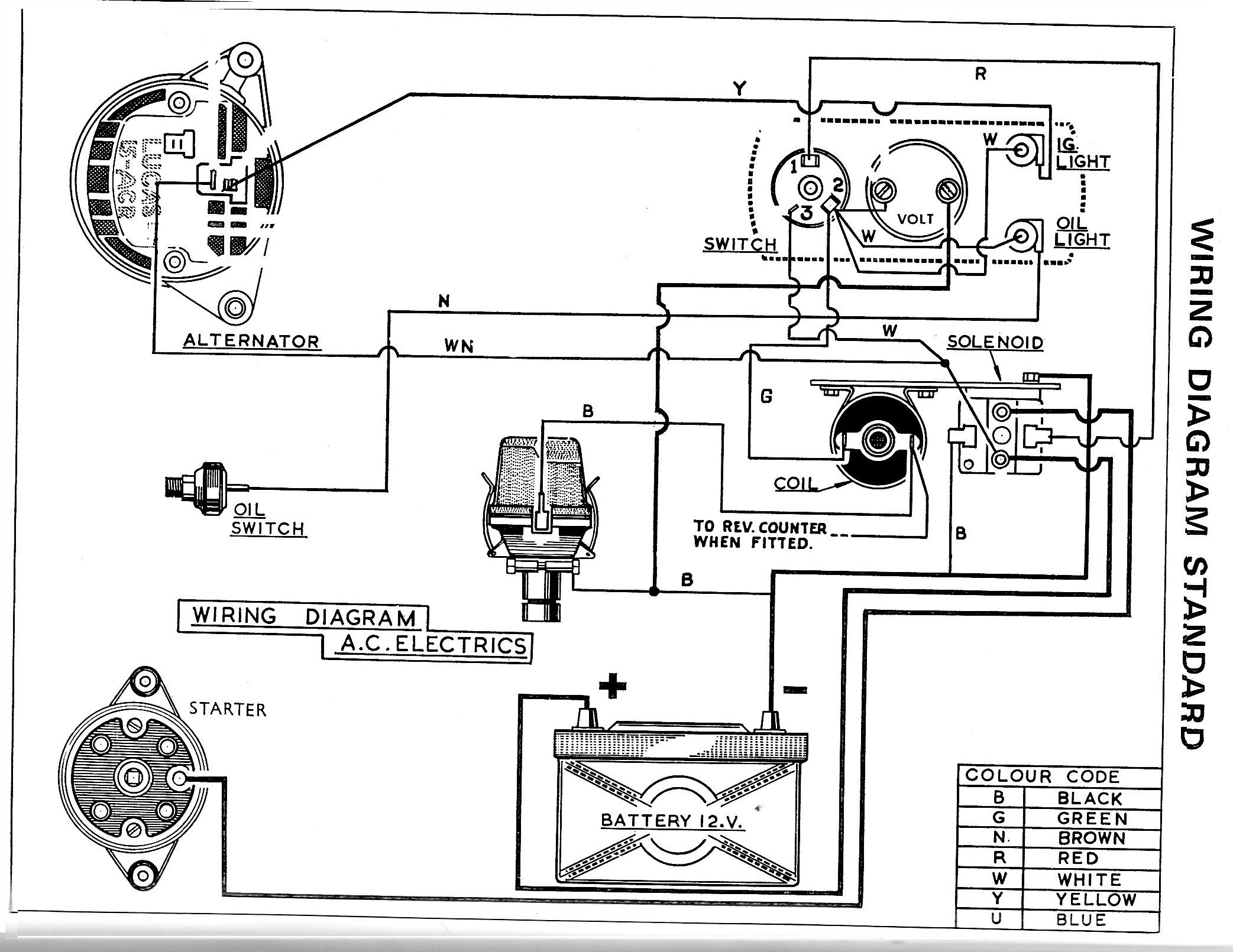 Lucas 128sa Ignition Switch Wiring Diagram Ezgo Battery