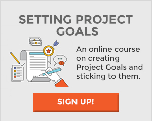 Setting Project Goals Course Signup