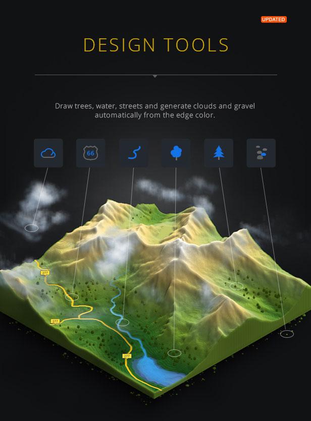 3D Map Generator - Terrain from Heightmap - 12