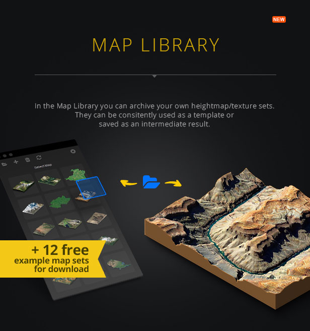 3D Map Generator - Terrain from Heightmap - 13
