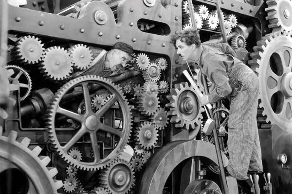 Modern Times By Chaplin
