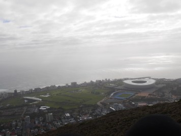 Paragliding on Signal Hill